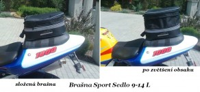 Brašna Sport Sedlo 9-14L